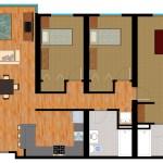 3 Bedroom Furnished